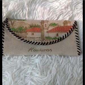 Handbags - Suede souvenir wallet from Honduras